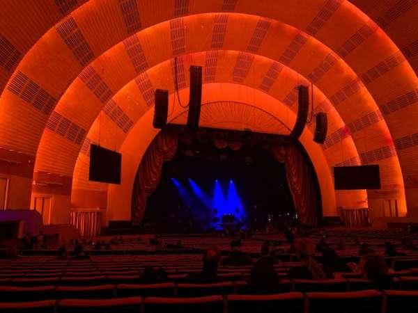 Radio City Music Hall, Abschnitt: Orchestra 6, Reihe: M, Platz: 612
