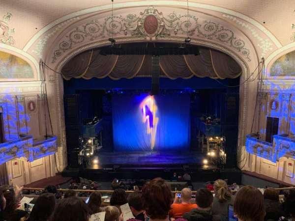 Merriam Theater, Abschnitt: BALC, Reihe: F, Platz: 106