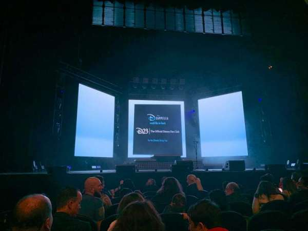 The Met Philadelphia, Abschnitt: Orchestra 2, Reihe: CC, Platz: 13