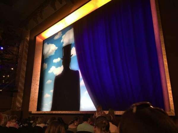 Lunt-Fontanne Theatre, Abschnitt: Orch, Reihe: J, Platz: 16