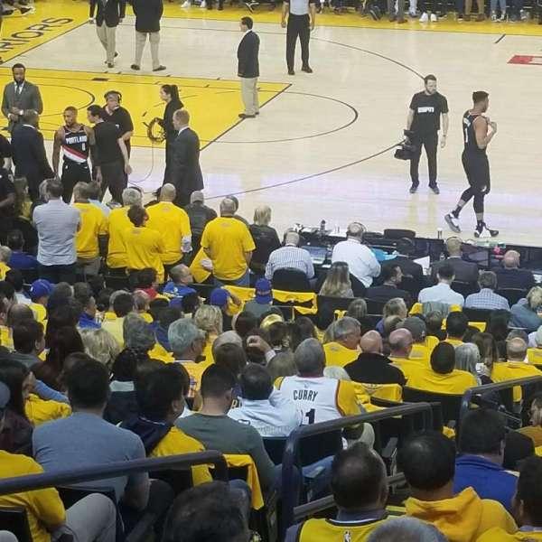 Oakland Arena, Abschnitt: 128, Reihe: 12, Platz: 12