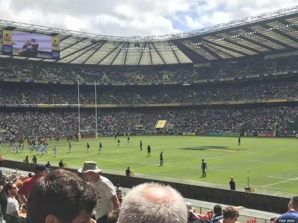Twickenham Stadium, Abschnitt: L22, Reihe: 21, Platz: 109