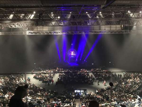 Arena Birmingham, Abschnitt: Show deck, Reihe: Stools, Platz: 8