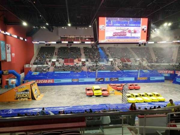 Bert Ogden Arena, Abschnitt: 201, Reihe: F, Platz: 6