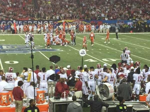 Georgia Dome, Abschnitt: 116, Reihe: 15, Platz: 14