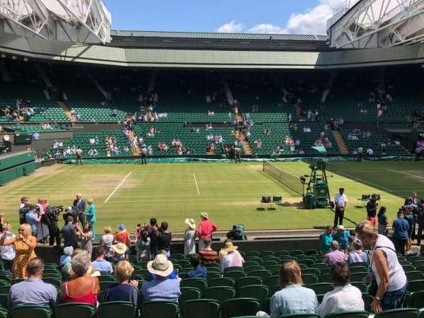 Wimbledon, Centre Court, Abschnitt: 204, Reihe: A, Platz: 87
