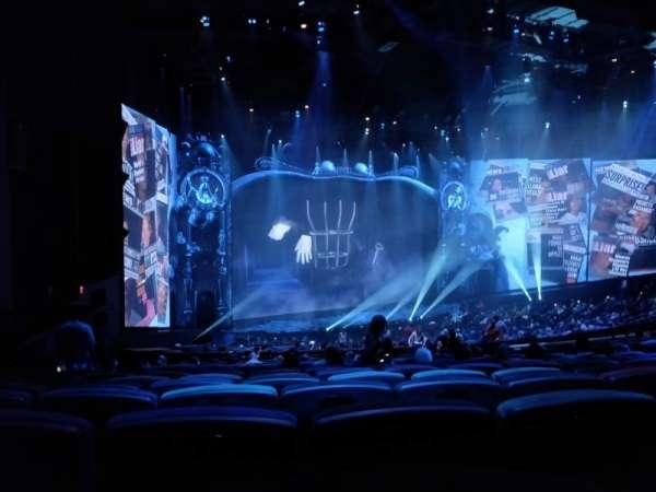Michael Jackson One Theatre, Abschnitt: 202, Reihe: QQ, Platz: 7