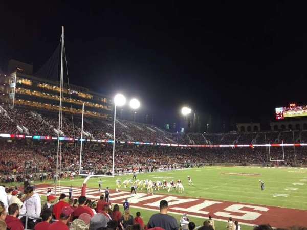 Stanford Stadium, Abschnitt: 101, Reihe: N, Platz: 8