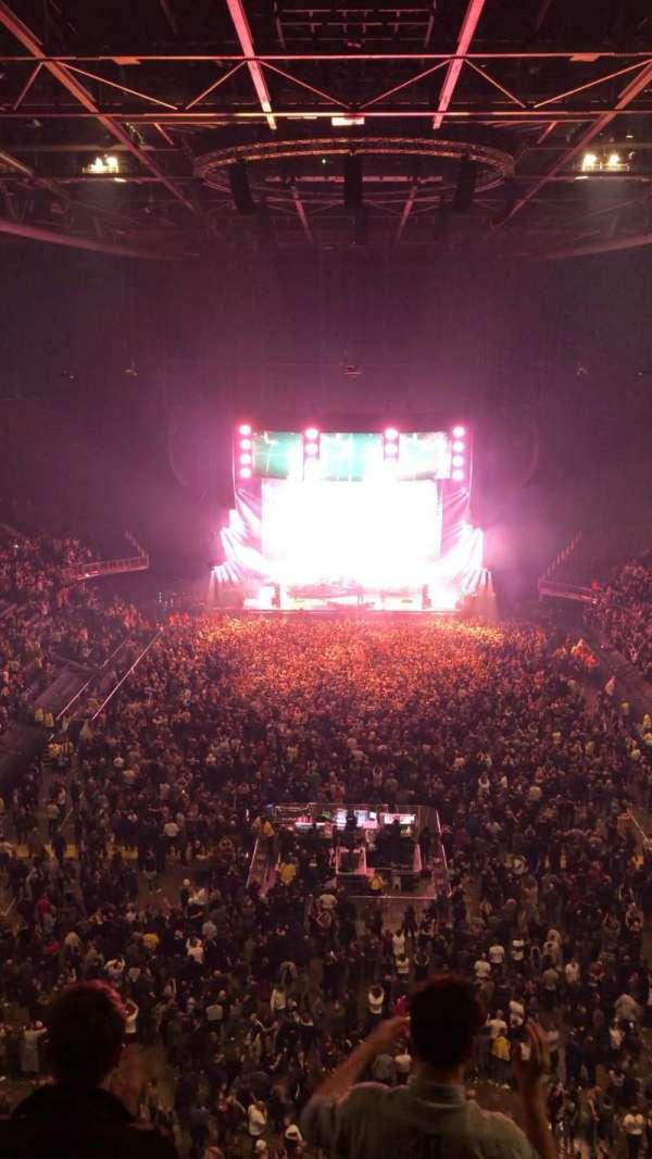 The O2 Arena, Bereich: 412, Reihe: D, Platz: 721