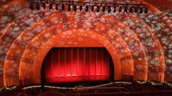 Radio City Music Hall, Abschnitt: 3rd MEZZANINE 5, Reihe: C, Platz: 501