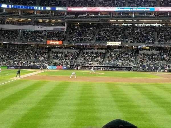 Yankee Stadium, Abschnitt: 106, Reihe: 7, Platz: 1