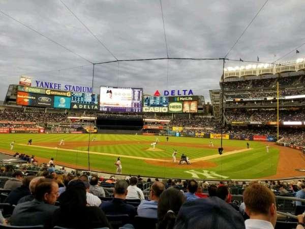 Yankee Stadium, Abschnitt: 121a, Reihe: 8, Platz: 4