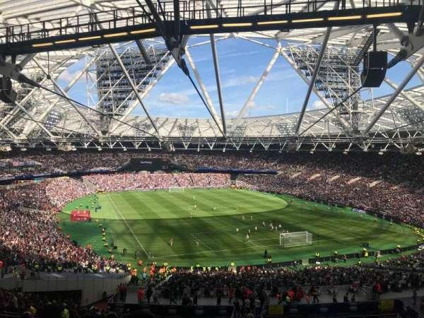London Stadium, Abschnitt: 218, Reihe: 58, Platz: 116