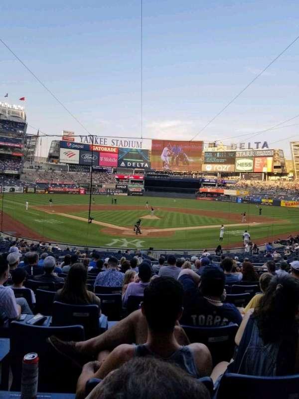 Yankee Stadium, Bereich: 120A, Reihe: 15, Platz: 5