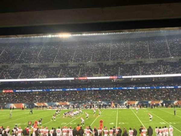 Soldier Field, Abschnitt: 108, Reihe: 16, Platz: 19