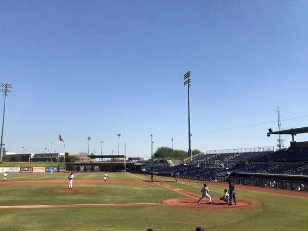 Peoria Sports Complex, Abschnitt: 107, Reihe: N, Platz: 4