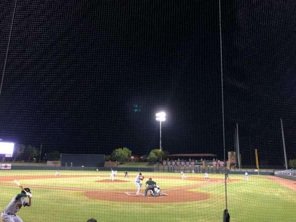 Scottsdale Stadium, Abschnitt: 103, Reihe: E, Platz: 3