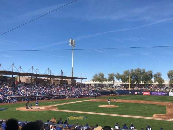 Maryvale Baseball Park, Abschnitt: 109, Reihe: V, Platz: 6