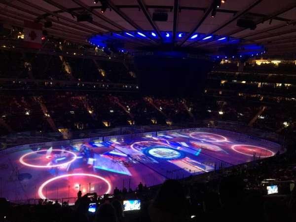 Madison Square Garden, Abschnitt: 208, Reihe: 7, Platz: 10