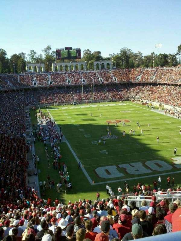 Stanford Stadium, Abschnitt: 206, Reihe: V, Platz: 8