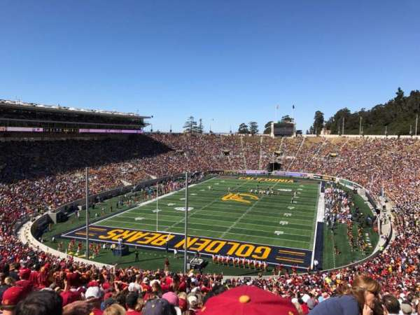 California Memorial Stadium, Abschnitt: N, Reihe: 74, Platz: 1