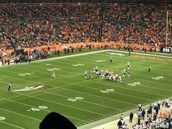 Empower Field at Mile High Stadium, Abschnitt: 343, Reihe: 9, Platz: 13
