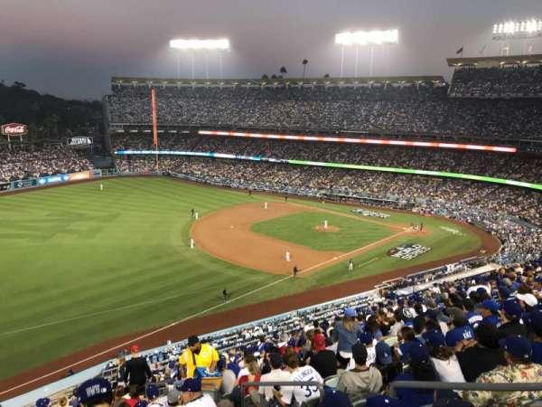 Dodger Stadium, Abschnitt: 39RS, Reihe: R, Platz: 5