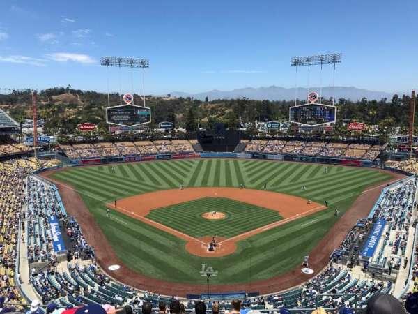 Dodger Stadium, Abschnitt: 1RS, Reihe: L, Platz: 7