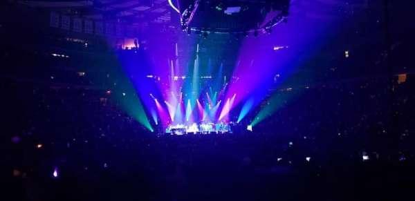 Madison Square Garden, Abschnitt: 1, Reihe: 18, Platz: 1
