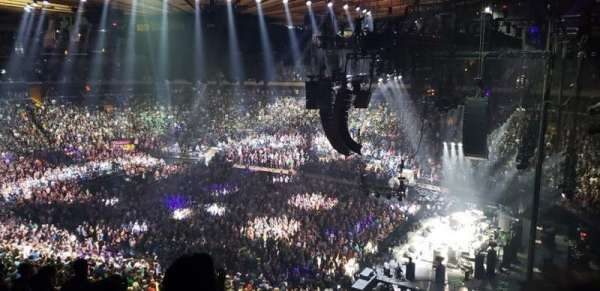 Madison Square Garden, Abschnitt: 214, Reihe: 8, Platz: 8