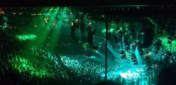 Madison Square Garden, Abschnitt: 414, Reihe: 3
