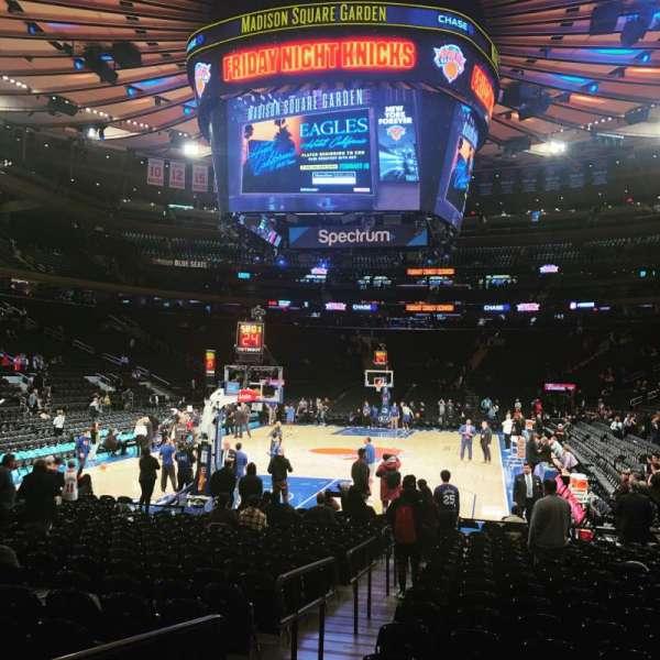 Madison Square Garden, Abschnitt: 3, Reihe: 19, Platz: 4