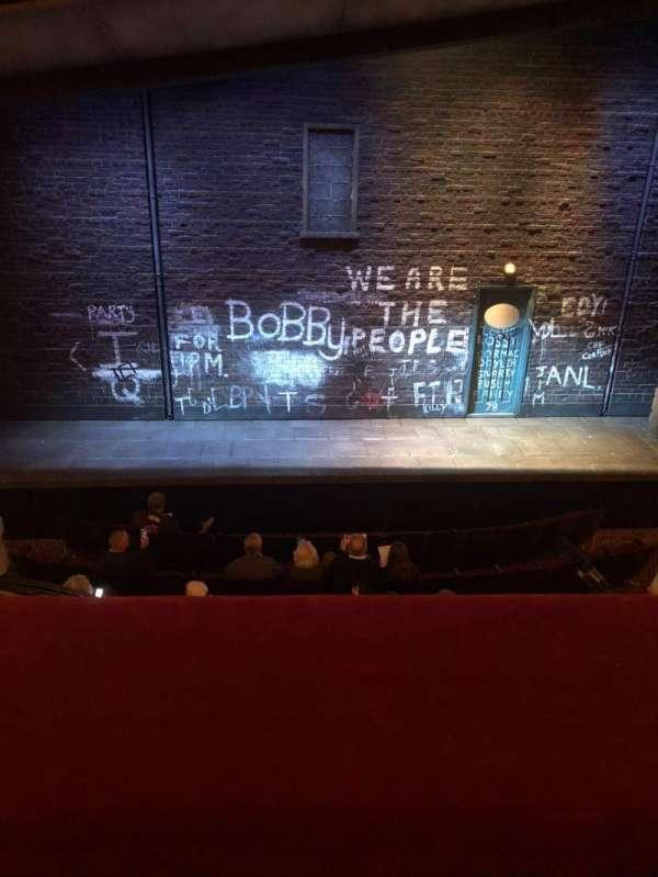 Bernard B. Jacobs Theatre, Abschnitt: Mezzanine, Reihe: A, Platz: 109