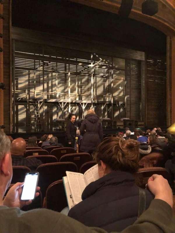 American Airlines Theatre, Bereich: Orchestra L, Reihe: K, Platz: 5