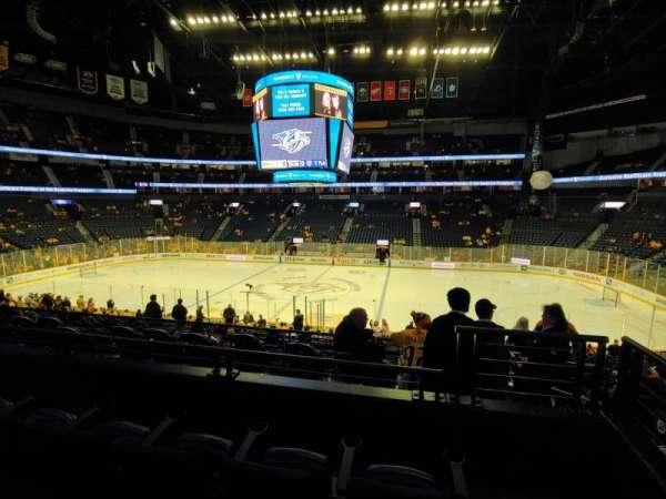 Bridgestone Arena, Abschnitt: 106, Reihe: L, Platz: 1
