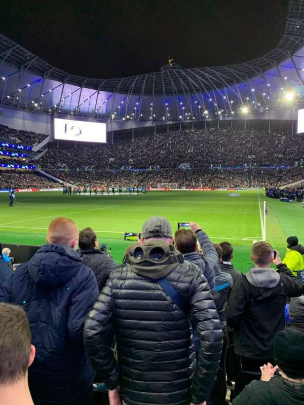 Tottenham Hotspur Stadium, Abschnitt: 110, Reihe: 7, Platz: 300