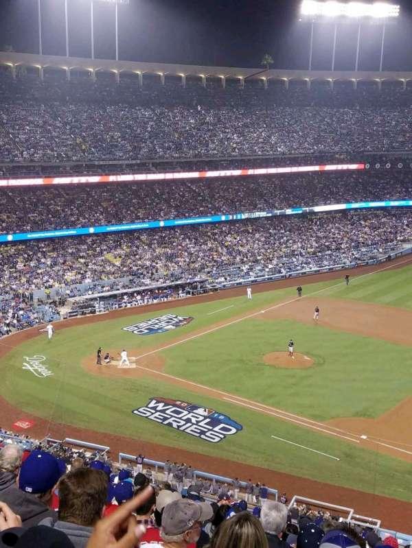 Dodger Stadium, Abschnitt: 24RS, Reihe: S, Platz: 21