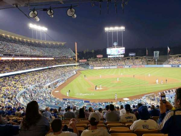 Dodger Stadium, Abschnitt: 116LG, Reihe: R, Platz: 6