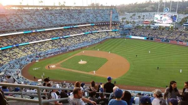 Dodger Stadium, Abschnitt: 22RS, Reihe: GG, Platz: 16
