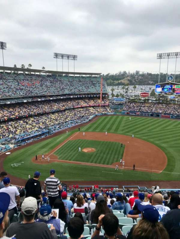 Dodger Stadium, Abschnitt: 20RS, Reihe: S, Platz: 2