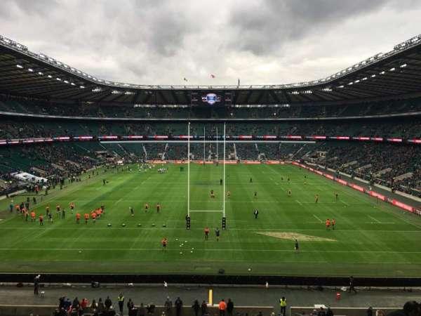 Twickenham Stadium, Abschnitt: M45, Reihe: 59, Platz: 196