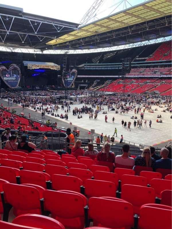 Wembley Stadium, Bereich: 116, Reihe: 40, Platz: 145