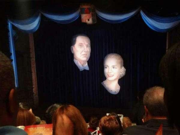 Marquis Theatre, Abschnitt: Mezzanine, Reihe: K, Platz: 118