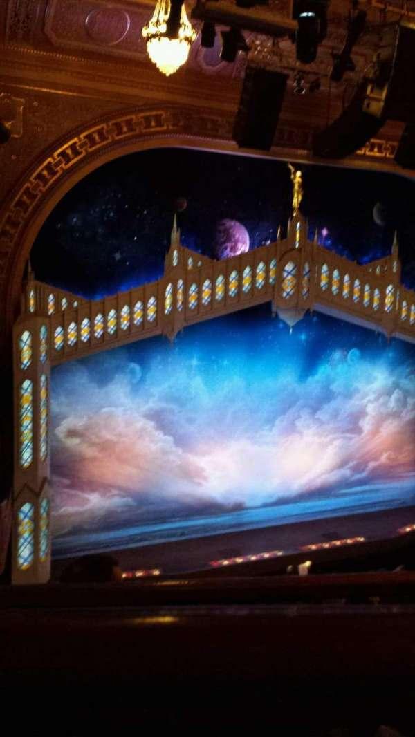 Eugene O'Neill Theatre, Abschnitt: Left Side Mezzanine, Reihe: E, Platz: 3