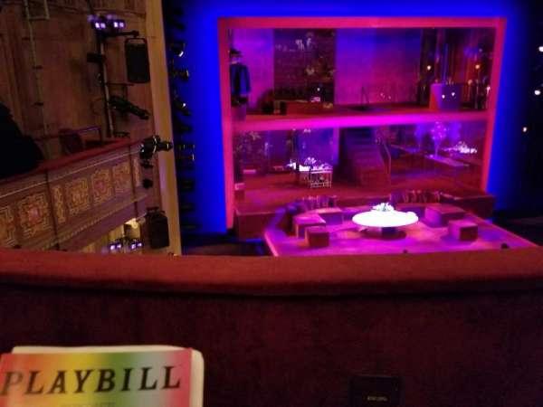 Booth Theatre, Abschnitt: Left Mezzanine, Reihe: B, Platz: 3