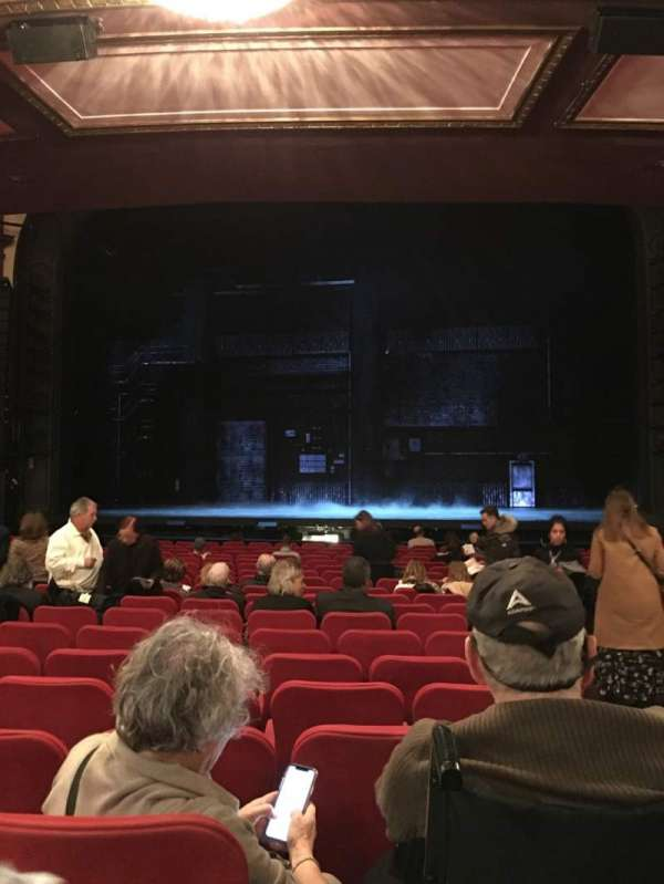 Broadway Theatre - 53rd Street, Abschnitt: Orchc, Reihe: S, Platz: 101