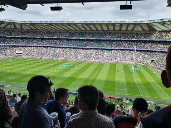 Twickenham Stadium, Abschnitt: M4, Reihe: 69, Platz: 91