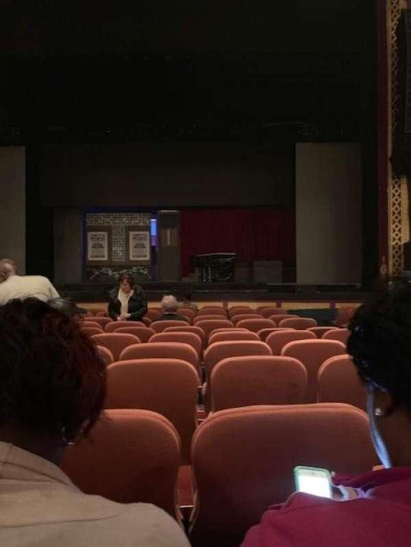 National Theatre (DC), Abschnitt: ORCHESTRA, Reihe: L, Platz: 104