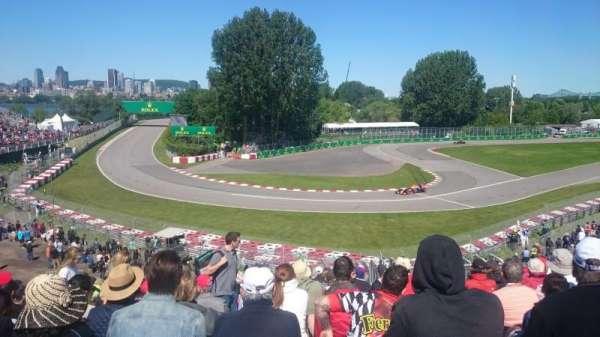 Circuit Gilles Villeneuve, Abschnitt: Silver 12, Reihe: O, Platz: 14
