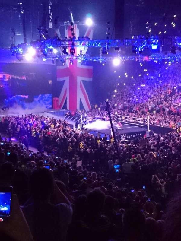 Manchester Arena, Abschnitt: 106, Reihe: J, Platz: 15